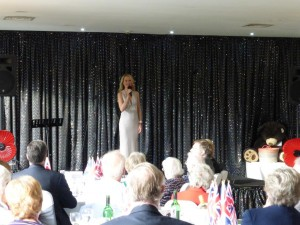 Jo Appleby performing