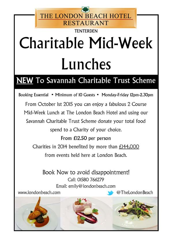Charity Midweek Lunch