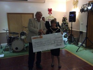 Cheque donation