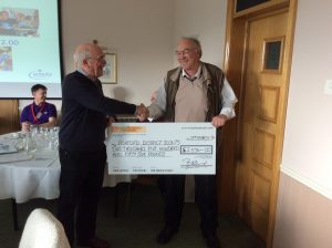 donation to Ashford district scouts