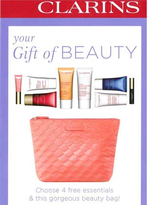 Clarins Beauty Offer
