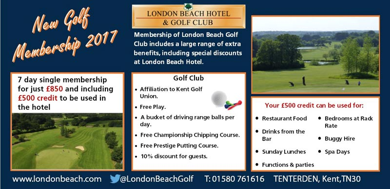 New Golf Membership 2017