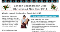 Health Club Newsletter 2014