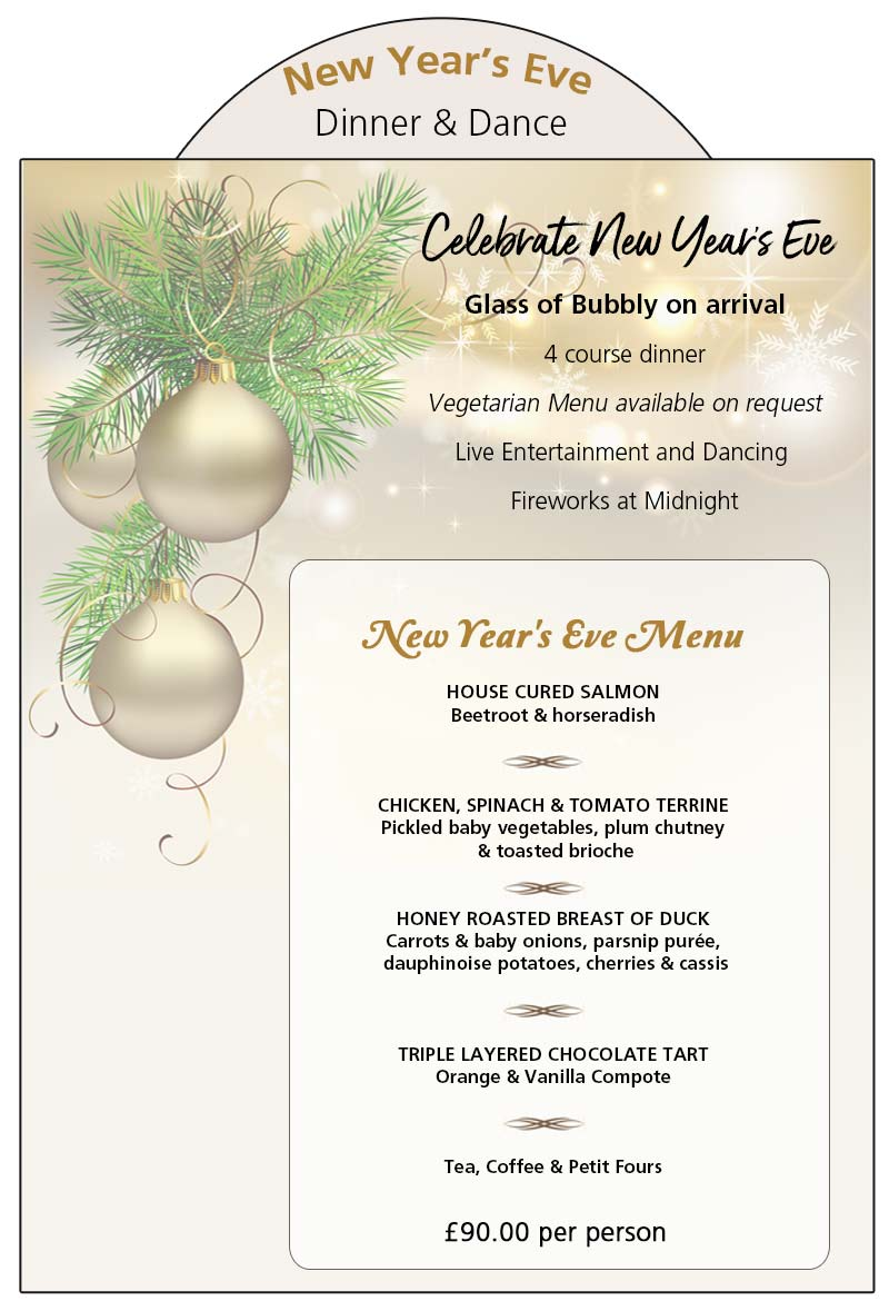 New Year's Eve Dinner & Dance 2015