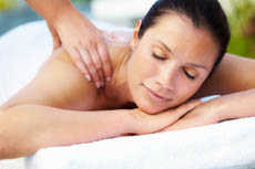 Rebalancing massage treatment