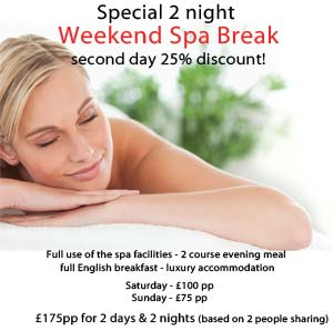 2 Night Spa Break Offer